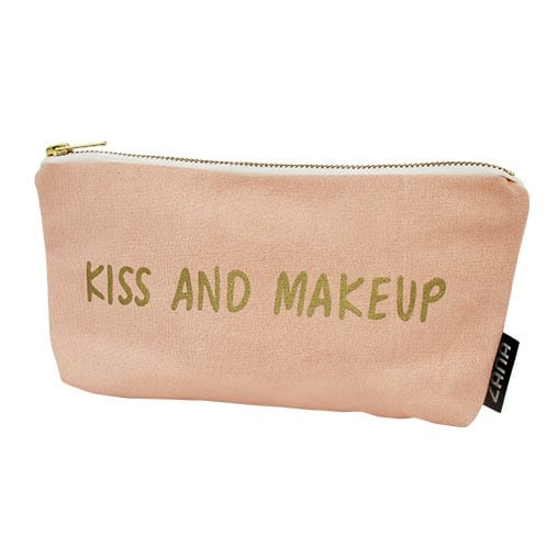 Kiss And Make Up: Kiss And Makeup Bag