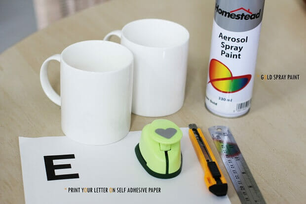 DIY Graphic Mug by Melissa