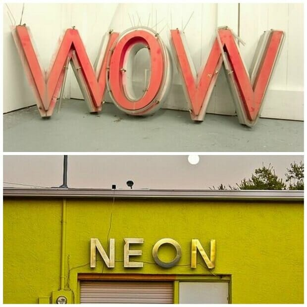 Neon Signs by Melissa